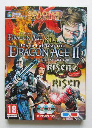Золотая коллекция сборник рпг 81 в 1 сборник игр PC DVD лиценз...