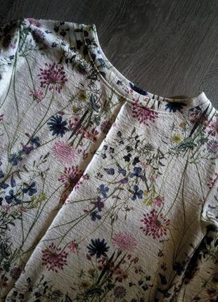 Невероятно красивый🌹 свитшот-реглан-джемпер-лонгслив в цветочн...