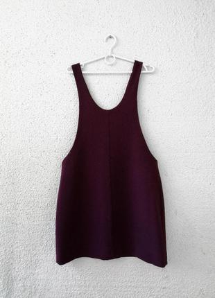 Крутой сарафан из плотной ткани, платье