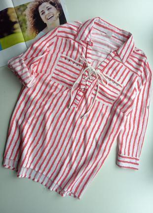 Рубашка,блуза в полоску