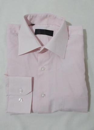 Рубашка нежно-розовая 'paulo conte milano' 48-50р