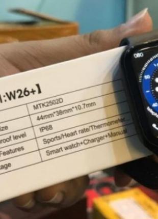 Смарт часы W26+ оригинал с широким функционалом и дизайном App...