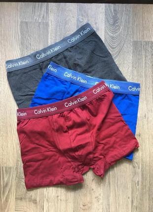 Комплект мужского белья - в стиле calvin klein (красные голубы...