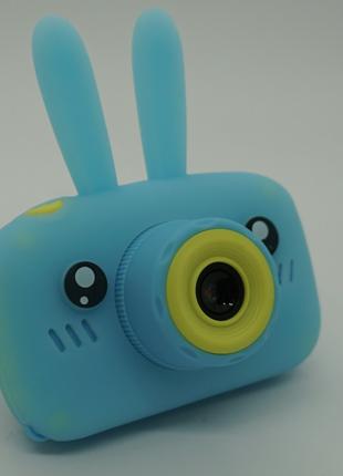 Детский цифровой фотоаппарат Smart Kids Camera (голубой)