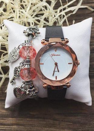 Наручные часы - розовые