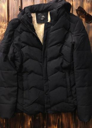 Куртка - мужская на меху (синяя)