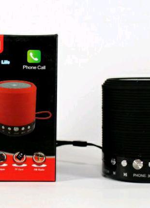 Мобільна колонка SPS WS 631+Bluetooth