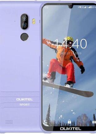 Смартфон с двойной камерой и большим экраном на 2 sim OUKITEL ...