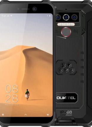 Смартфон защищенный со сканером отпечатка пальца на 2 sim OUKI...