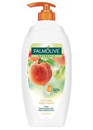 "Гель для душу palmolive  ""м'який та солодкий персик"", 750мл"