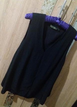 Стильная блуза-трапеция дорого бренда bogemia
