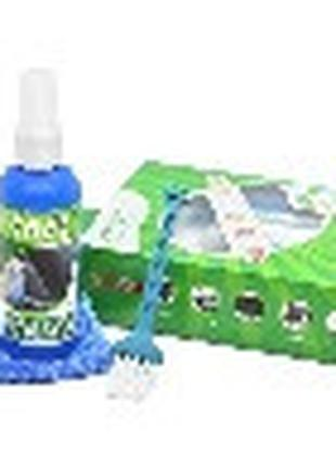 Набор чистящий 3 в 1, жидкость 60 мл, кисточка, микрофибра Q150