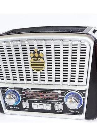 Радиоприемник GOLON RX-456, LED, 3W, FM радио, Входы microSD, ...