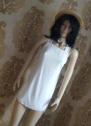 Супер стильная блуза-туника на запах / пляжная туника