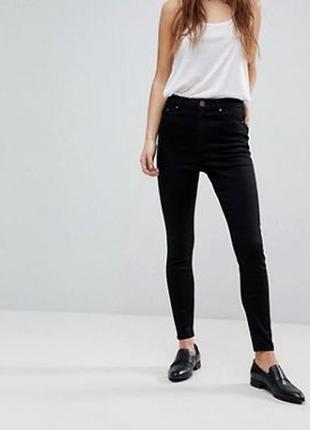 Базовые черные skinny fit