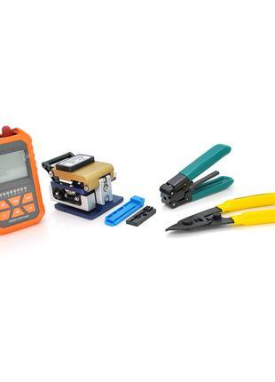 Набор инструментов и тестеров для работы с оптическим кабелем ...