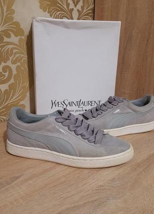 Оригинальные замшевые кроссовки puma