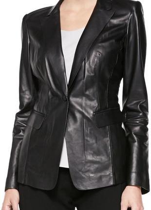 Женские кожаный пиджак, кожаная куртка пиджак