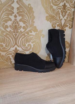 Новые удобные полу ботиночки большого размера