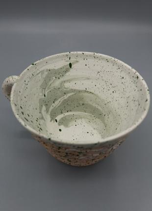Чашка чайная керамическая.