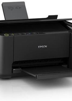 Струйный принтер цветной со сканером и копиром МФУ Epson L3151...