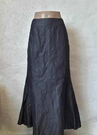 Новая юбка в пол  годе ткань с переливами 59 %хлопок/25%вискоз...