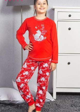 Пижамы для девочек vienetta secret на 9-10  лет