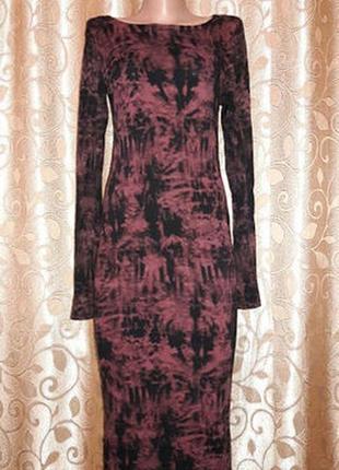🌺👗🌺стильное женское трикотажное облегающее платье миди ribbon🔥🔥🔥