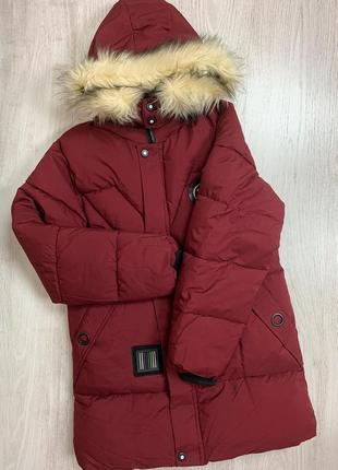 🌿 зимняя куртка • пуховик • пальто • парка с капюшоном и опушкой