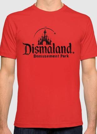 Dismaland крутая футболка с принтом