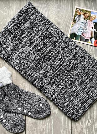 Набор теплые носки и шарф victoria's secret