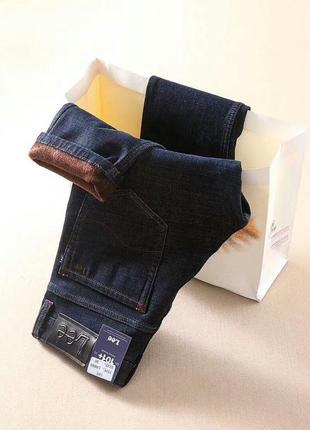 Утепленные мужские джинсы lee