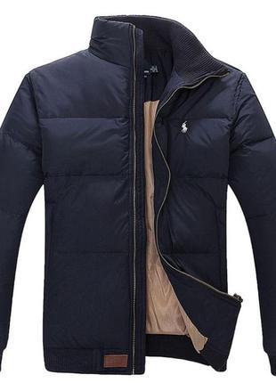 Мужская куртка пуховик polo ralf lauren