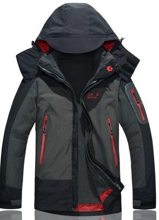 Мужские куртки 2в1 jack wolfskin