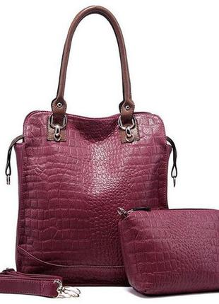 Качественная кожаная женская сумка oppo