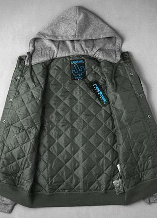 Стеганная качественная мужская куртка весна-осень размер м