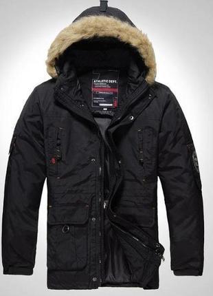 Мужская куртка пуховик 2в1 ecko function athletic