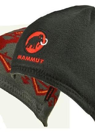 Двусторонние зимние мужские шапки   mammut  оригинал