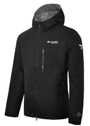 Мужская куртка мембранная водонепроницаемая columbia titanium ...