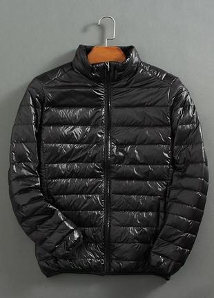 Мужская куртка ультратонкий компактный пуховик