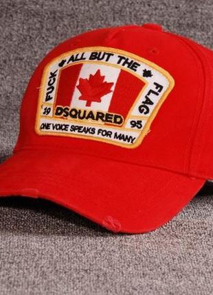 Модные кепки бейсболки dsquared