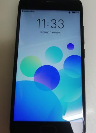 Смартфон телефон Meizu m5 (M611h) 3/32 отличное состояние
