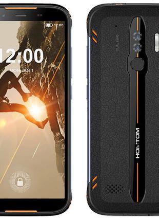 Смартфон защищенный с 2 камерами и отпечатком пальца на 2 sim ...