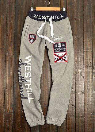 Теплые спортивные мужские штаны smog оригинал