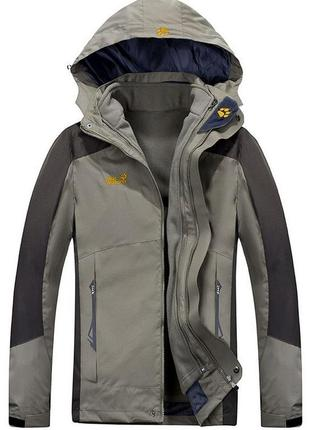 Мужская куртка 2в1 jack wolfskin