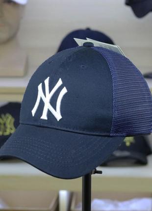 Летние кепки бейсболки new york mlb сетка оригинал