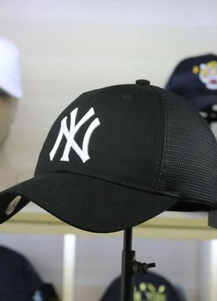 Летние кепки бейсболки new york mlb сетка оригинал