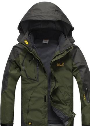 Мужские куртки jack wolfskin 2 в 1