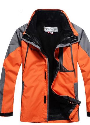 Мужские куртки columbia titanium 2в1