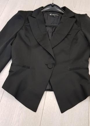 Пиджак классика черный